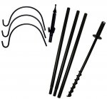 FP5TX - 5 Piece Feeder Pole Set With 3 Hangers
