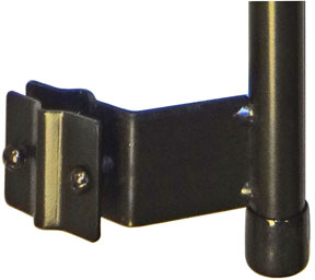 WIPP - Tubular Baluster Mount Pole - Click Image to Close